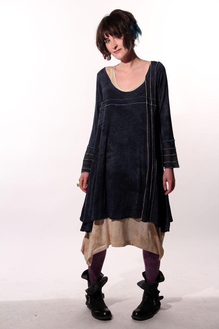 Платье бохо многослойное фото