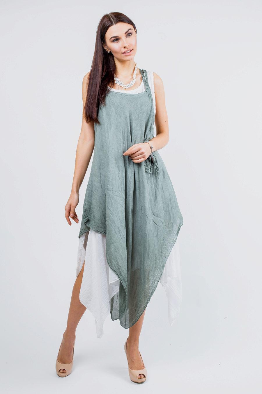 Платье бохо Лен фото