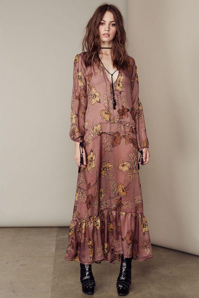 Платье бохо шифон фото