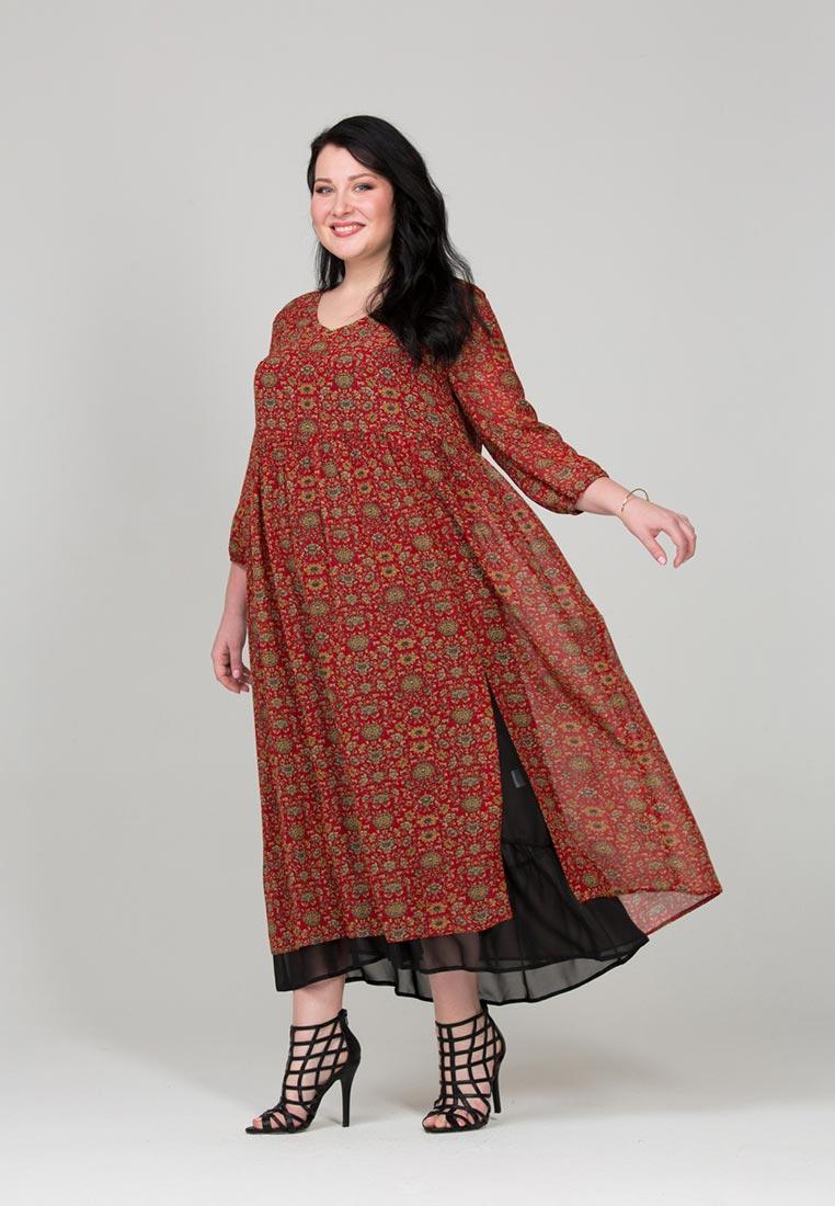Платье бохо для полных фото