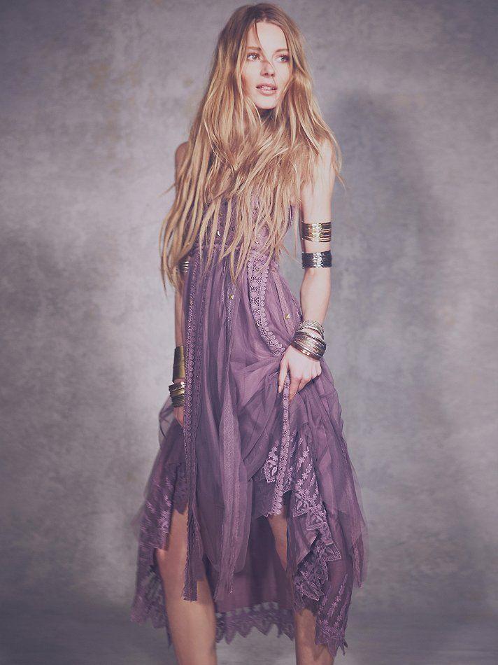 Платье бохо для выпускного фото