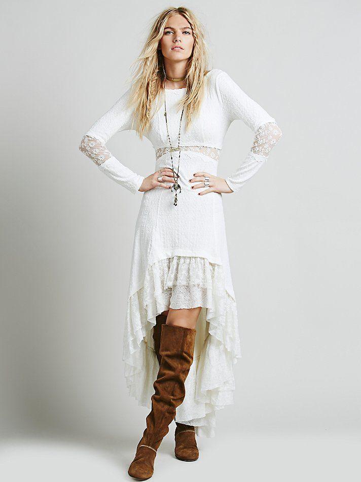 Платье бохо шик фото