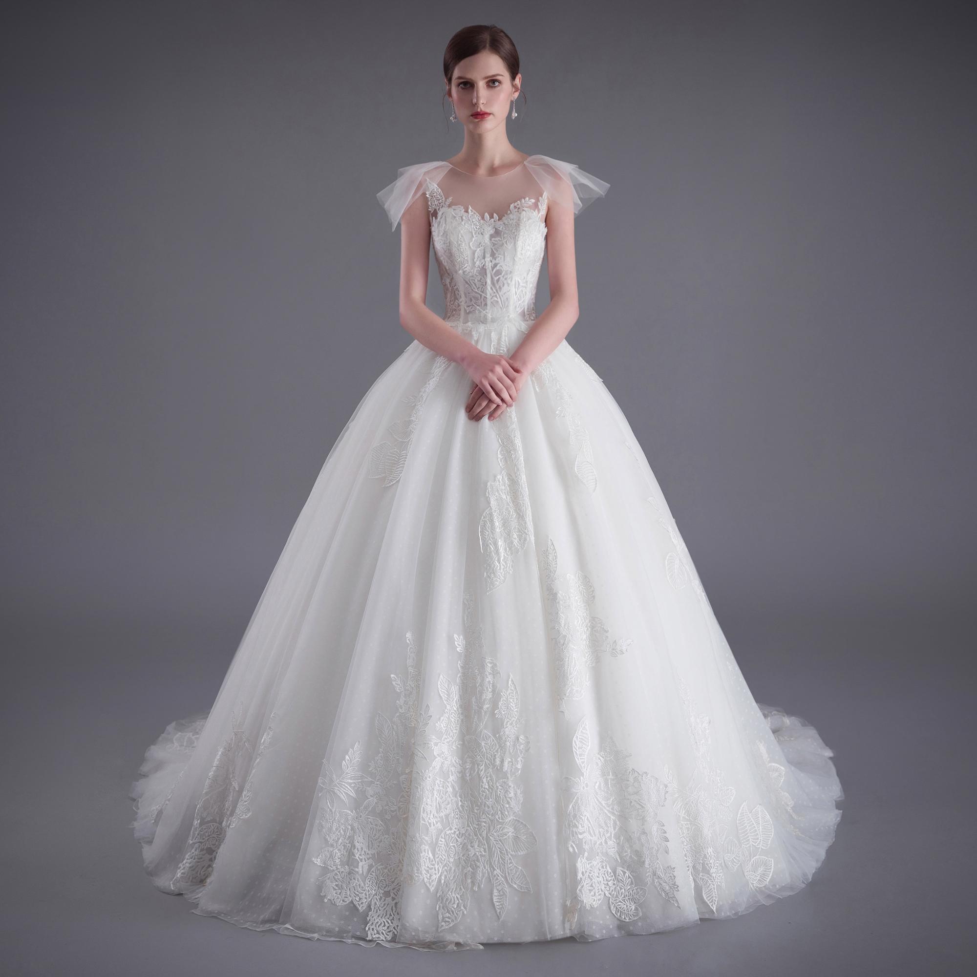бальное платье свадебное