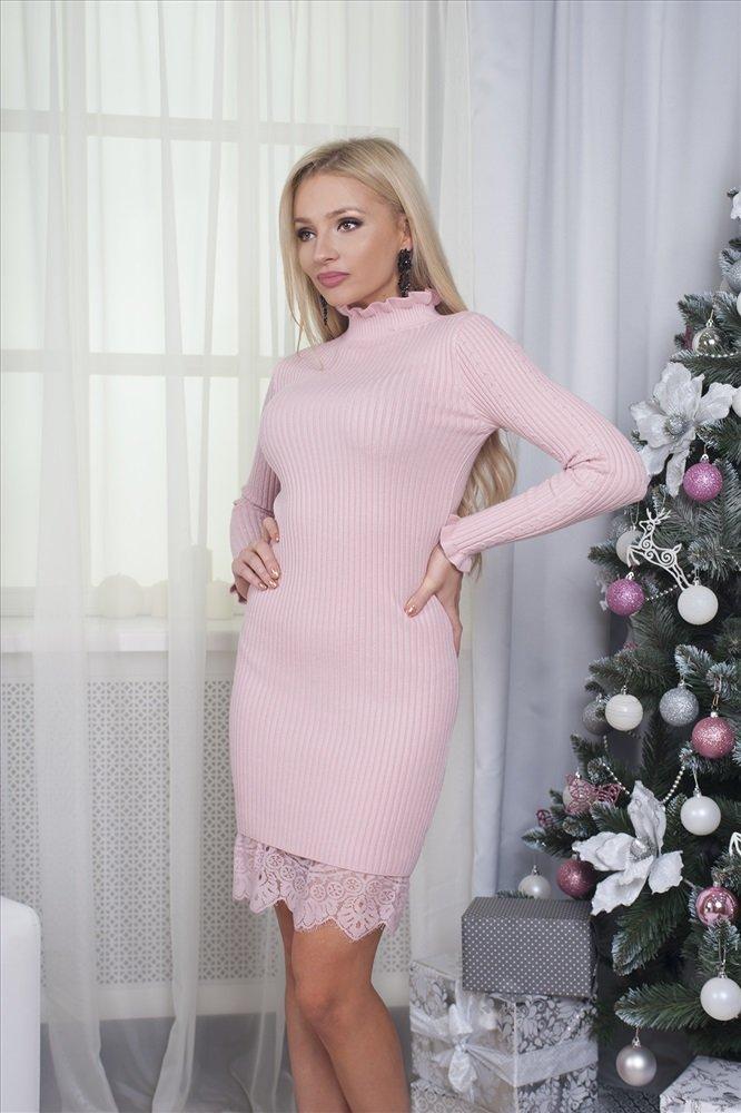 розовое платье лапша