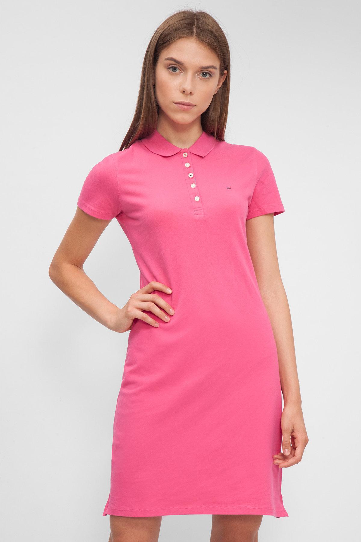 розовое платье спортивное