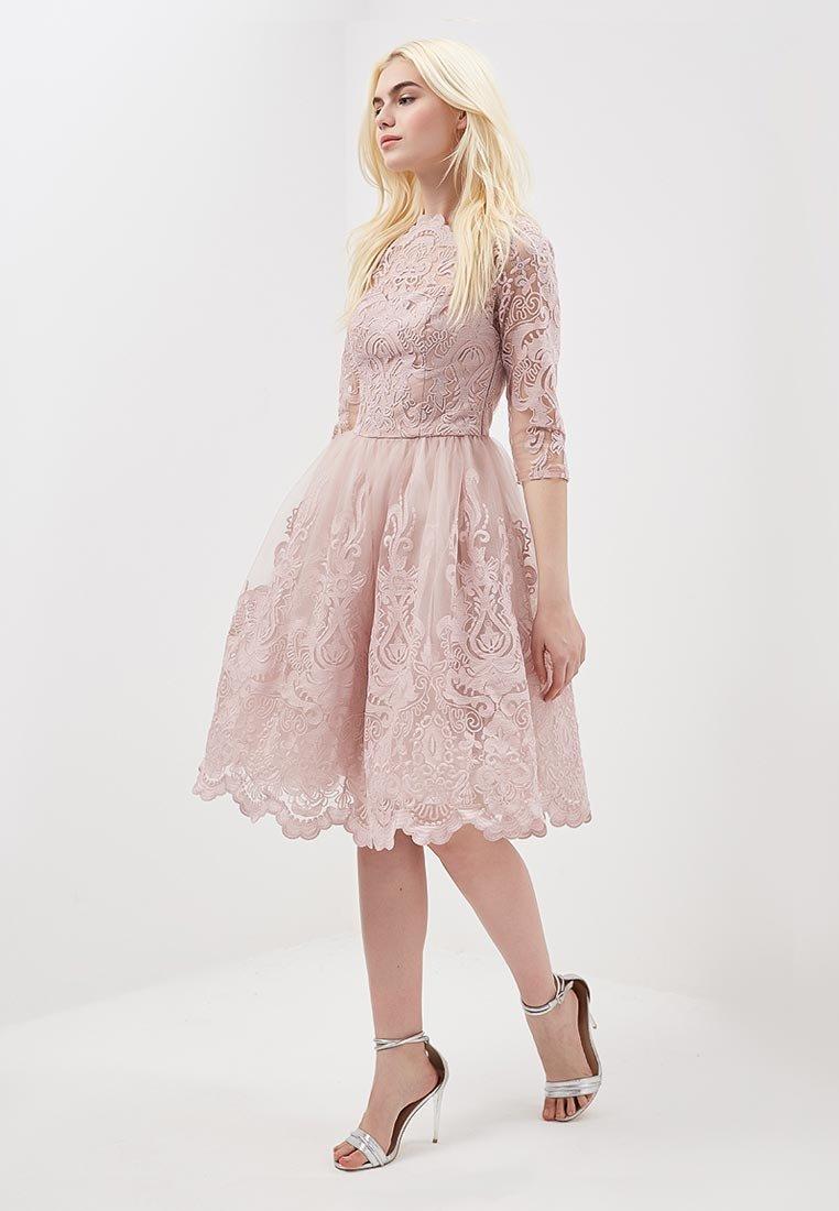 кружевное платье с юбкой солнце
