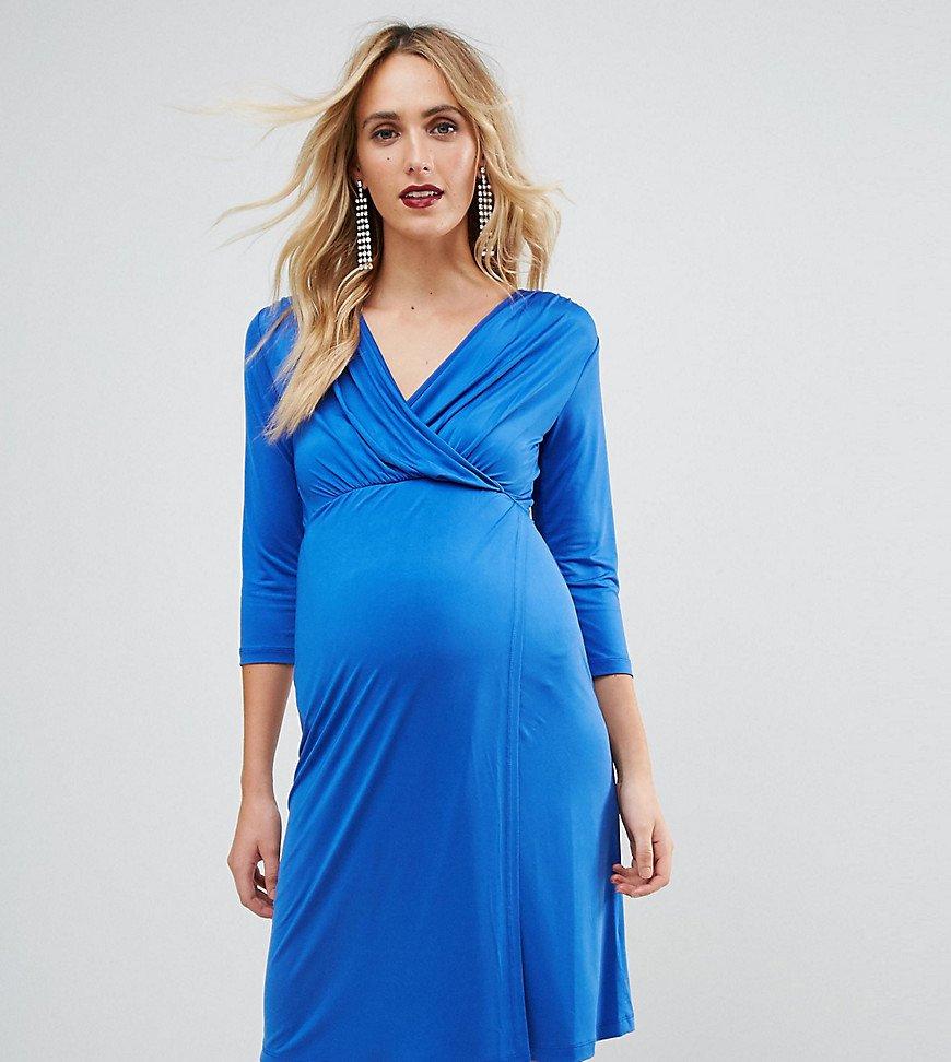 платье с запахом для беременных