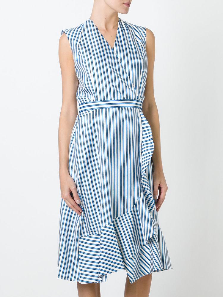 платье в полоску хлопок