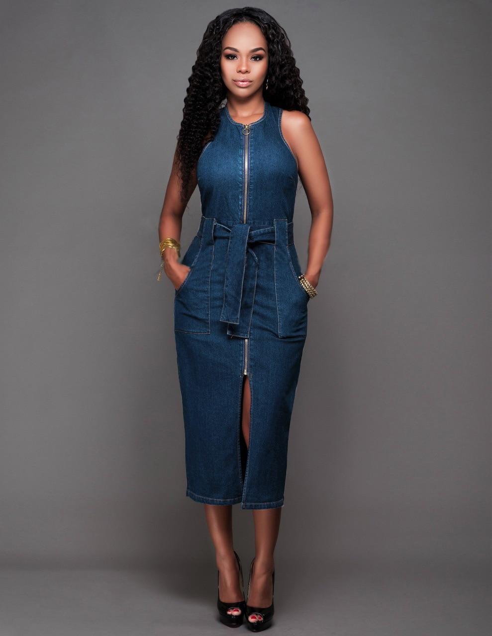 джинсовое платье футляр