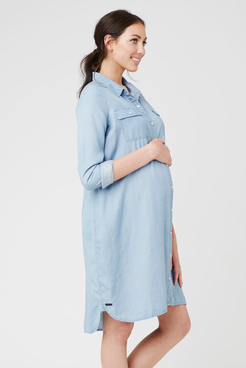 джинсовое платье на беременных
