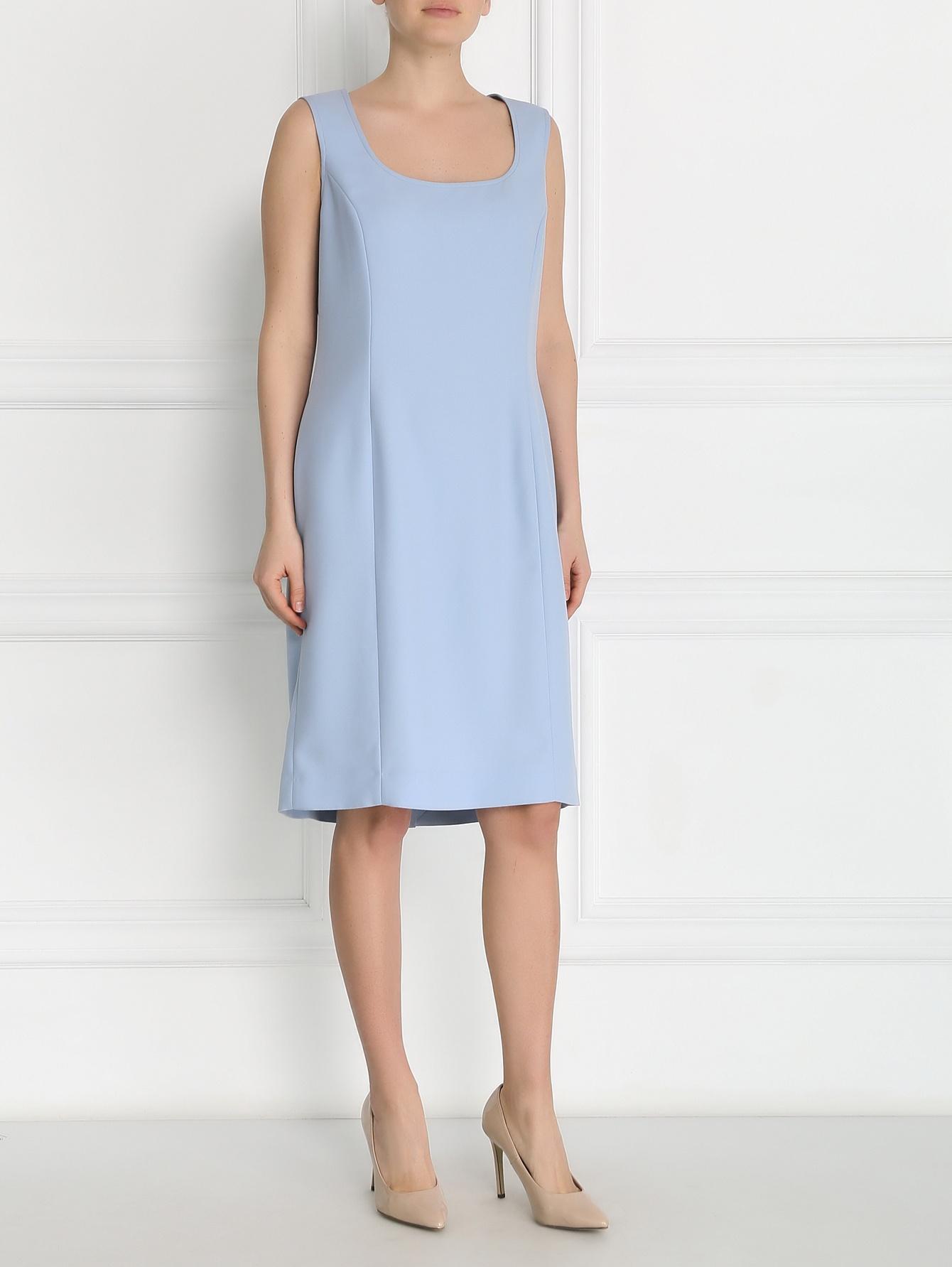 платье футляр прямого кроя