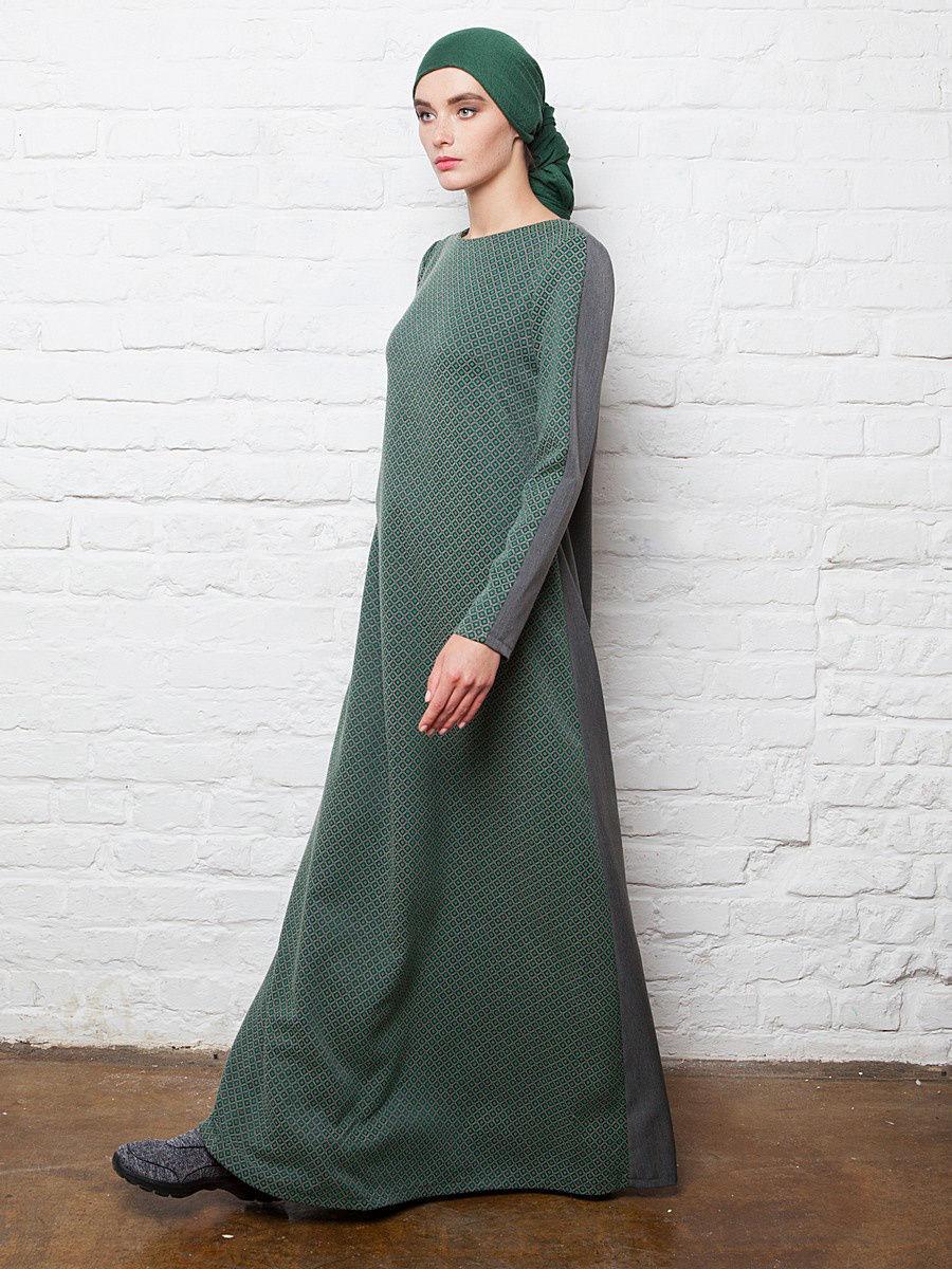 платье а силуэта макси