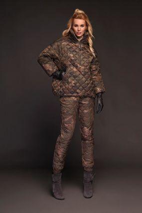 Анорак камуфляжный женский