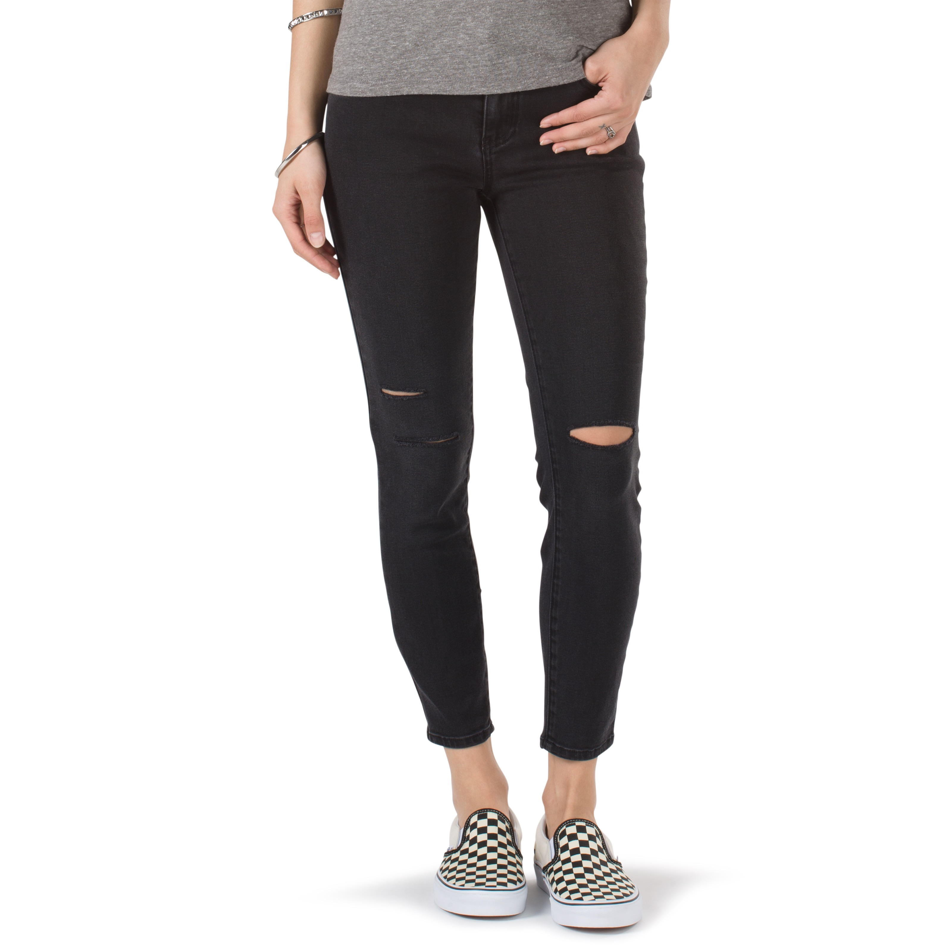 Джинсы Destructed Skinny