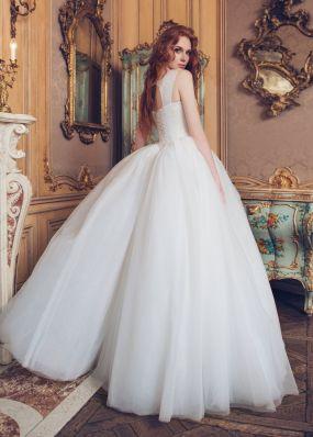 Свадебное платье с кристаллами FC002