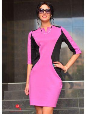 Платье Alicja, цвет сиреневый, черный