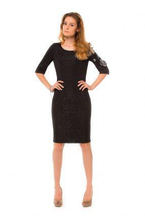 Платье POTIS&VERSO Мелоди 317B цвет черный