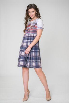 Платье IDEM Алия цвет синий