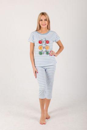 Пижама женская iv21735 (бриджи)
