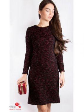 Платье Nastya Sergeeva by May Be, цвет черный, бордовый