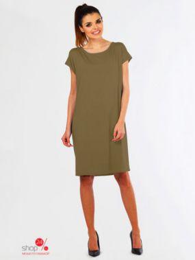 Платье LENTAL, цвет темно-бежевый