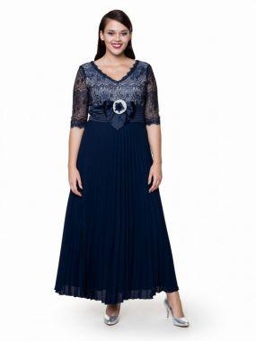Платье POTIS&VERSO Лансия 310D цвет синий
