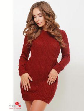 Платье MarSe, цвет бордовый