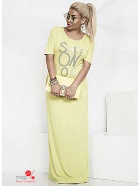 Платье Irina Foksy, цвет желтый