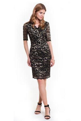 Платье LAME DE FEMME Зель 384L цвет черный