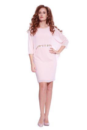 Платье LAME DE FEMME Линда 36GL цвет бежевый