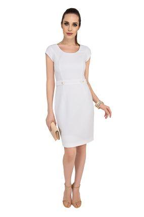 Платье LAME DE FEMME Диана 348L цвет белый