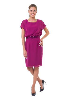 Платье LAME DE FEMME Лонда 380L цвет фиолетовый