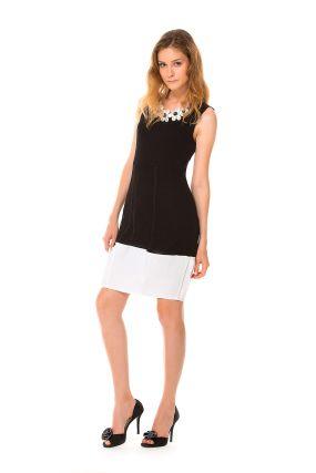 Платье MERLA ADA цвет черно-белый