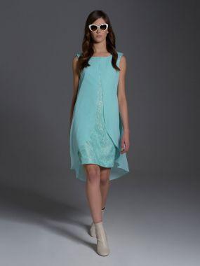 Платье LAME DE FEMME Кристал 35GL цвет салатовый