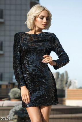 Эффектное платье-мини