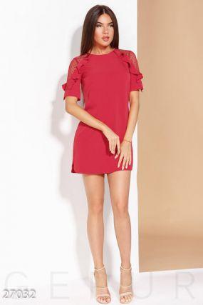 Повседневное платье-мини
