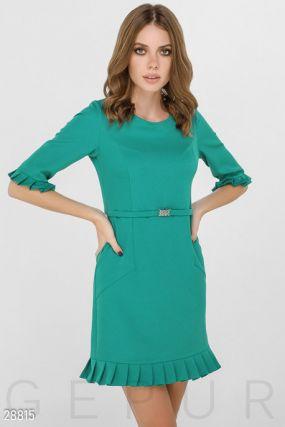 Офисное платье-мини
