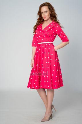 Платье TERESA KOPIAS Ивета цвет красный-розовый