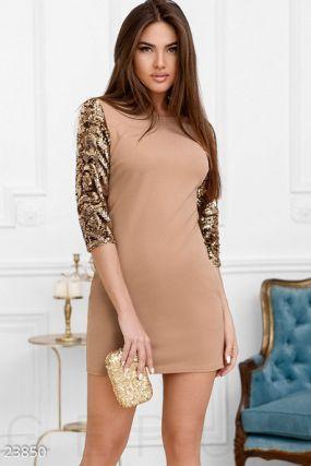 Декорированное платье-мини