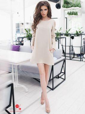 Платье B&H, цвет бежевый