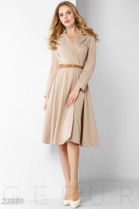 Элегантное деловое платье