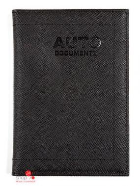 Бумажник водителя Zinger, цвет черный