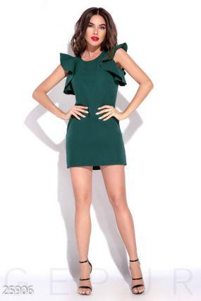 Яркое платье-мини
