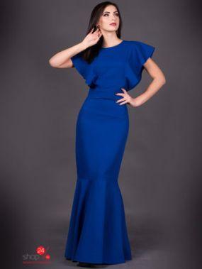 Платье TALES, цвет ярко-синий