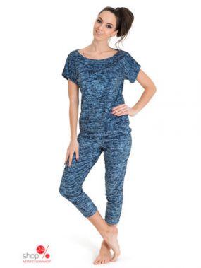 Комплект: футболка, брюки Tenerezza, цвет синий