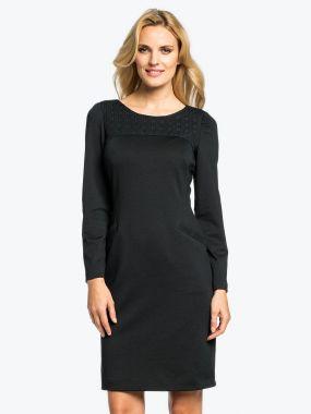 Платье POTIS&VERSO Крета 394H цвет черный