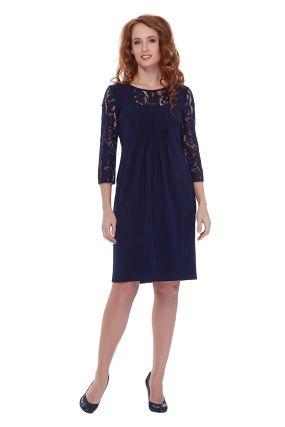 Платье TWIN SU 270/30/17 цвет синий