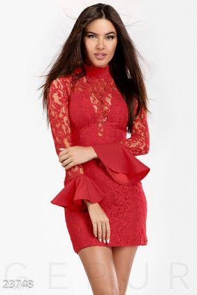 Коктейльное платье-мини