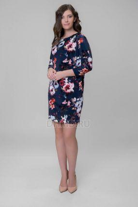 Платье RISCA Ника цвет синий