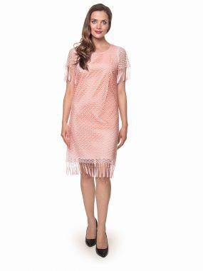 Платье POTIS&VERSO Сантос 386J  цвет розовый